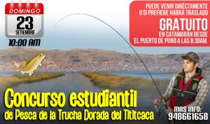 Concurso de pesca estudiantil